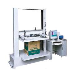 apparecchiatura di collaudo di pressione di compressione del cartone del contenitore del computer 5T con 1/250000 di risoluzione
